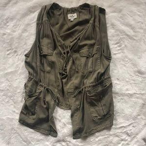 American eagle utility style vest xl